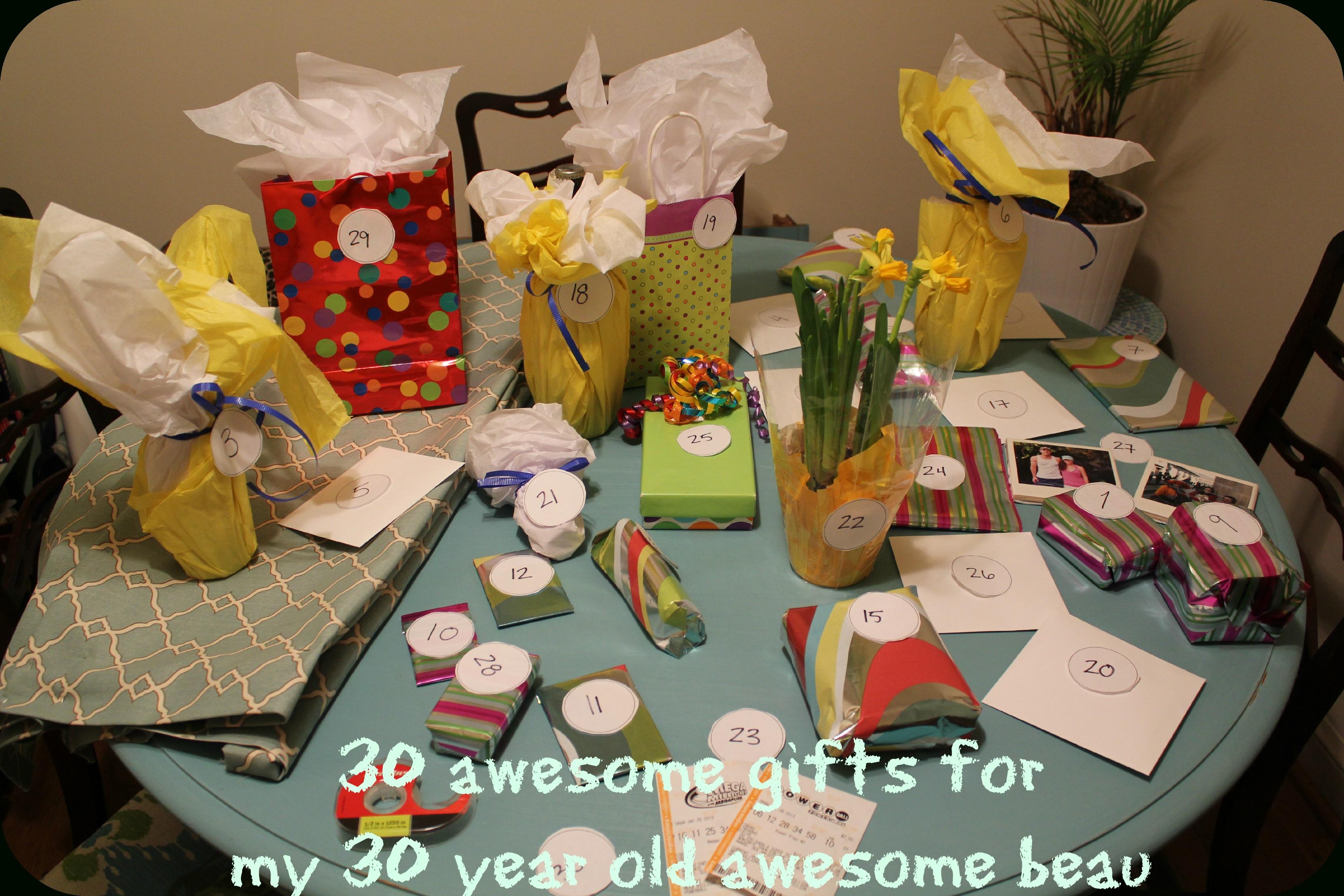 10 Unique 30 Birthday Ideas For Him Gift Boyfriend Boyfriends 30th