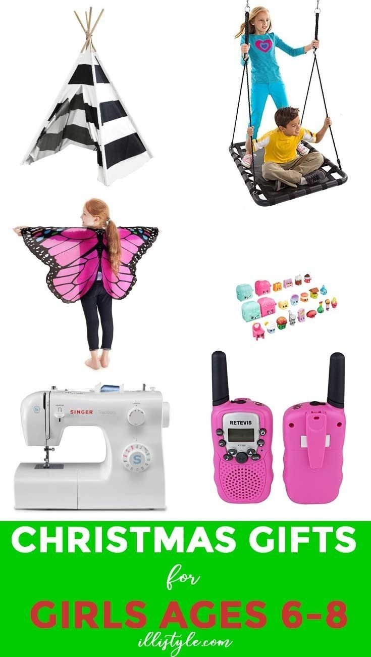 10 Famous Gift Ideas For 8 Yr Old Girl gift ideas for girls 6 8 years fun things christmas gifts and 6
