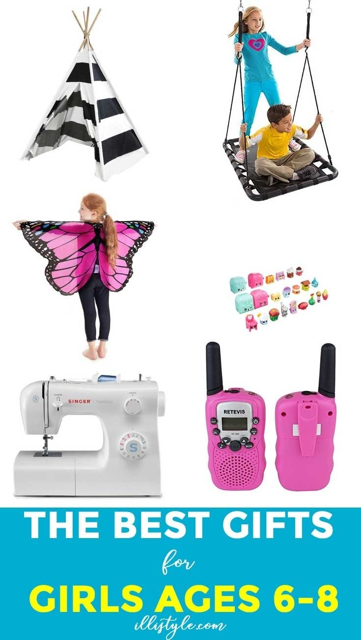 10 Lovely Gift Ideas For 6 Year Old Girl gift ideas for girls 6 8 years illistyle 2021