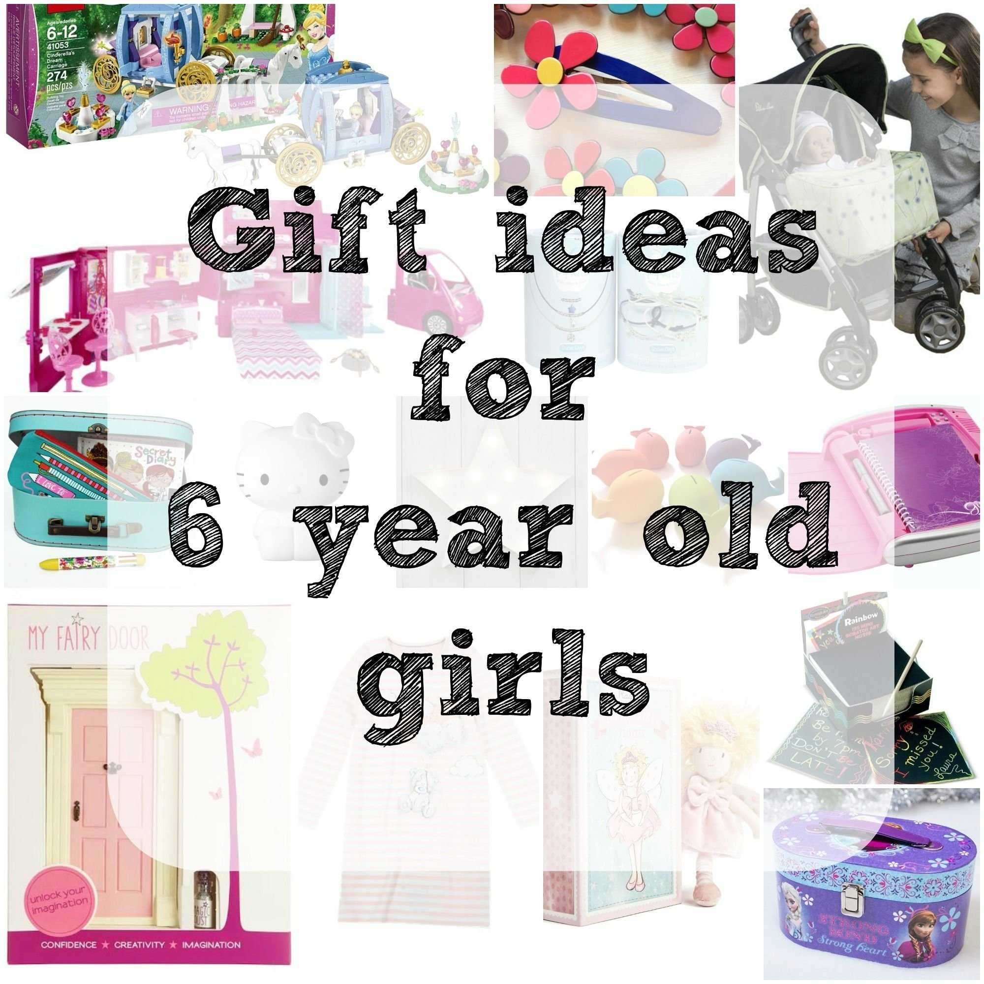 gift ideas for girls age 6 - need some inspiration for a little lady