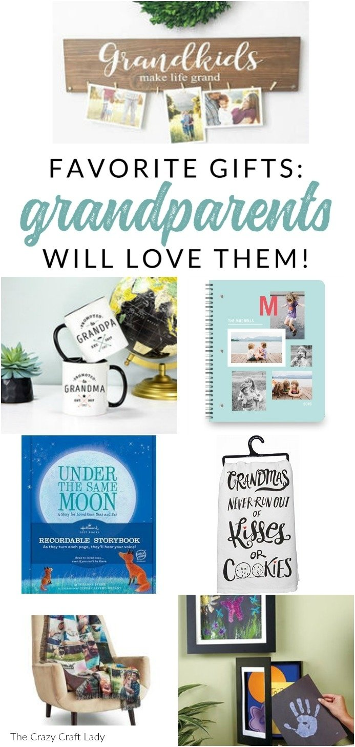 10 Fantastic Gift Ideas For New Grandparents gift ideas for grandma and grandpa favorite grandparent gifts 1