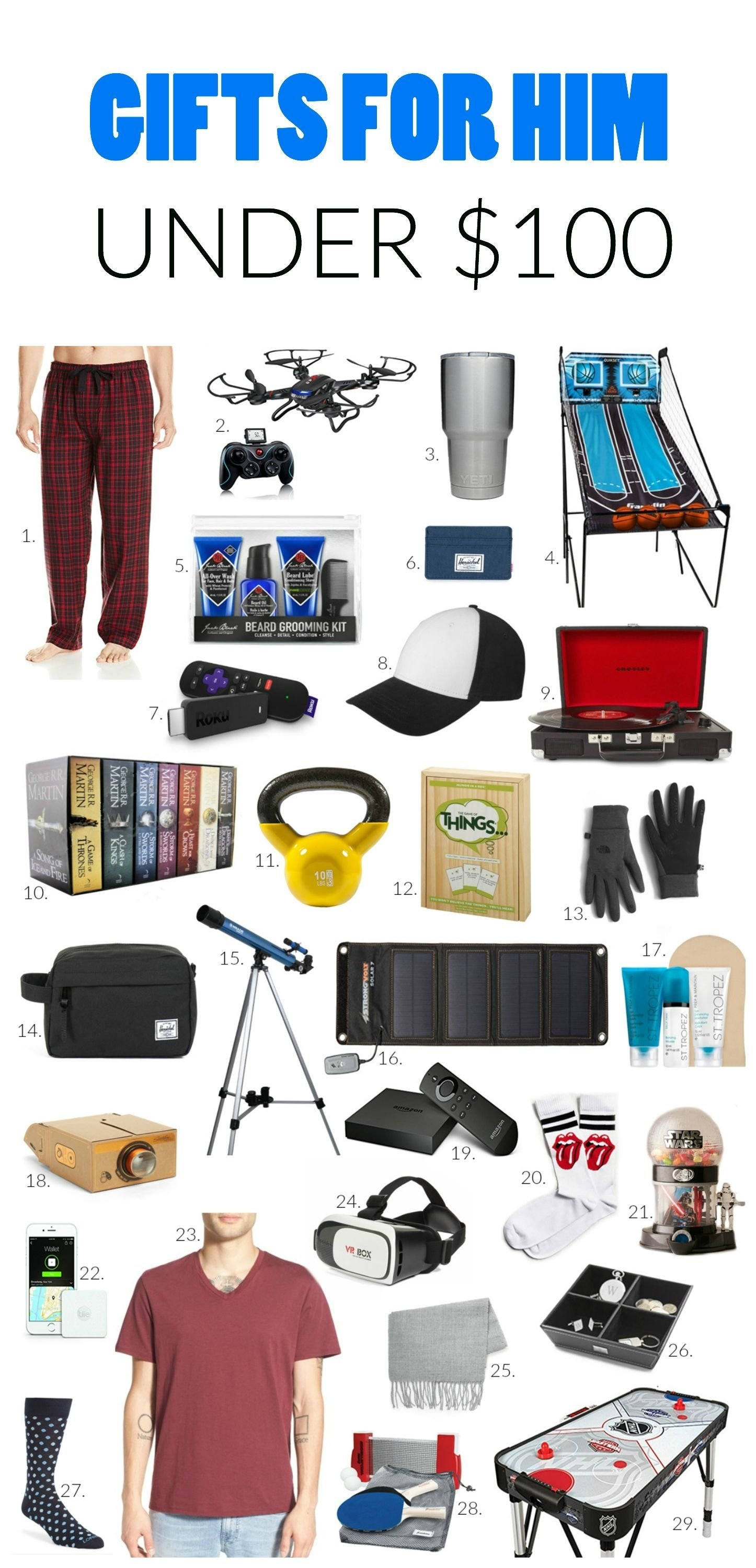 10 Spectacular Cool Birthday Gift Ideas For Guys gift ideas for him under 100 dads unique and gift