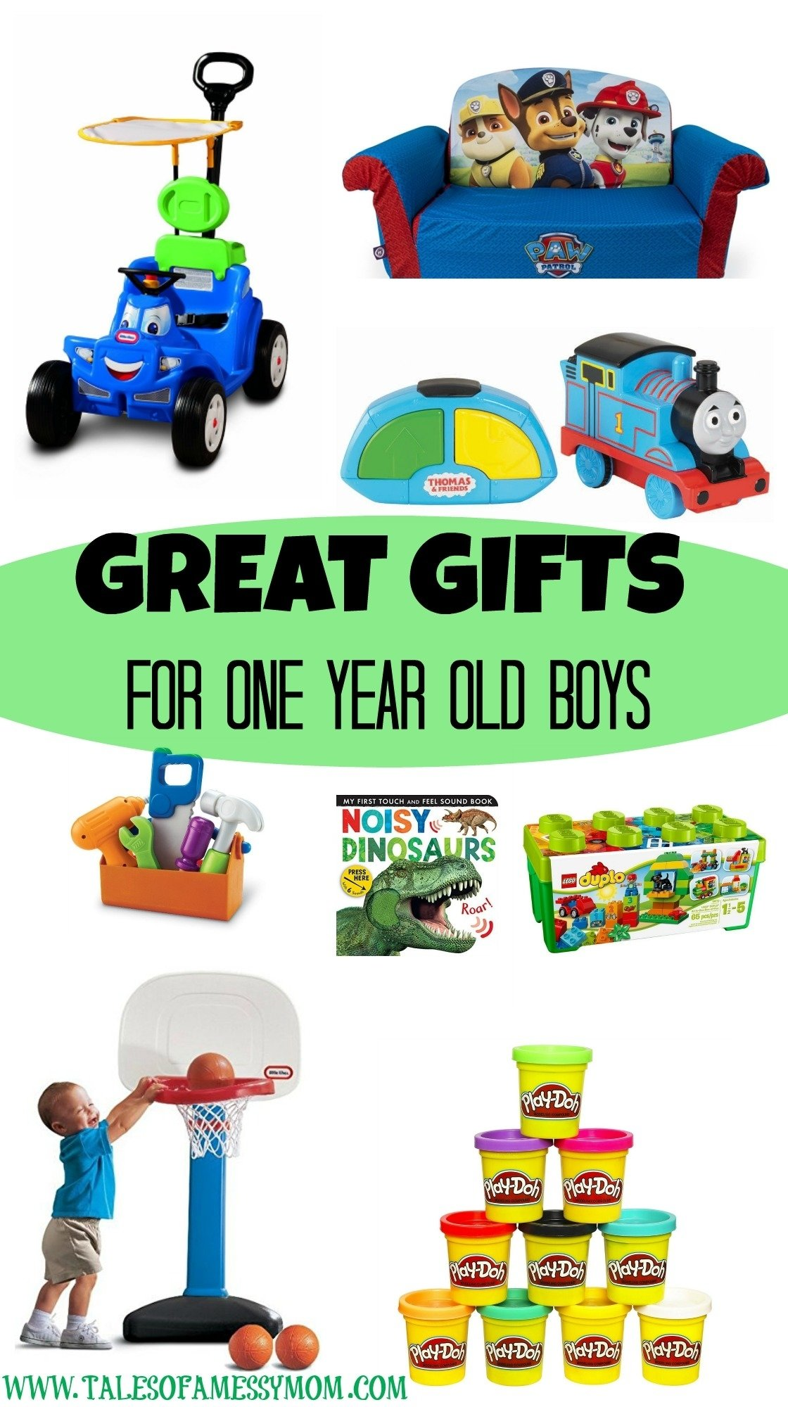10 Unique Gift Ideas For One Year Old Boy gift ideas for one year old boys tales of a messy mom