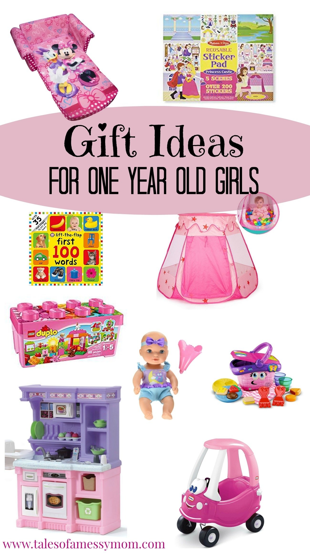 10 Lovely Gift Ideas For One Year Old gift ideas for one year old girls tales of a messy mom 4 2021
