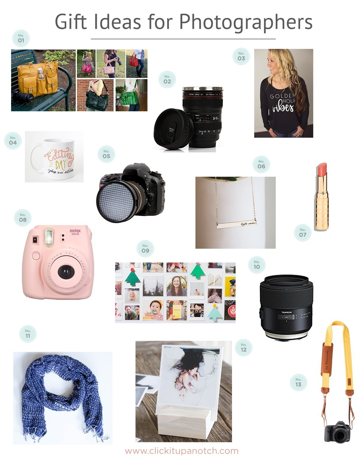 10 Nice Gift Ideas For A Photographer gift ideas for photographers 1