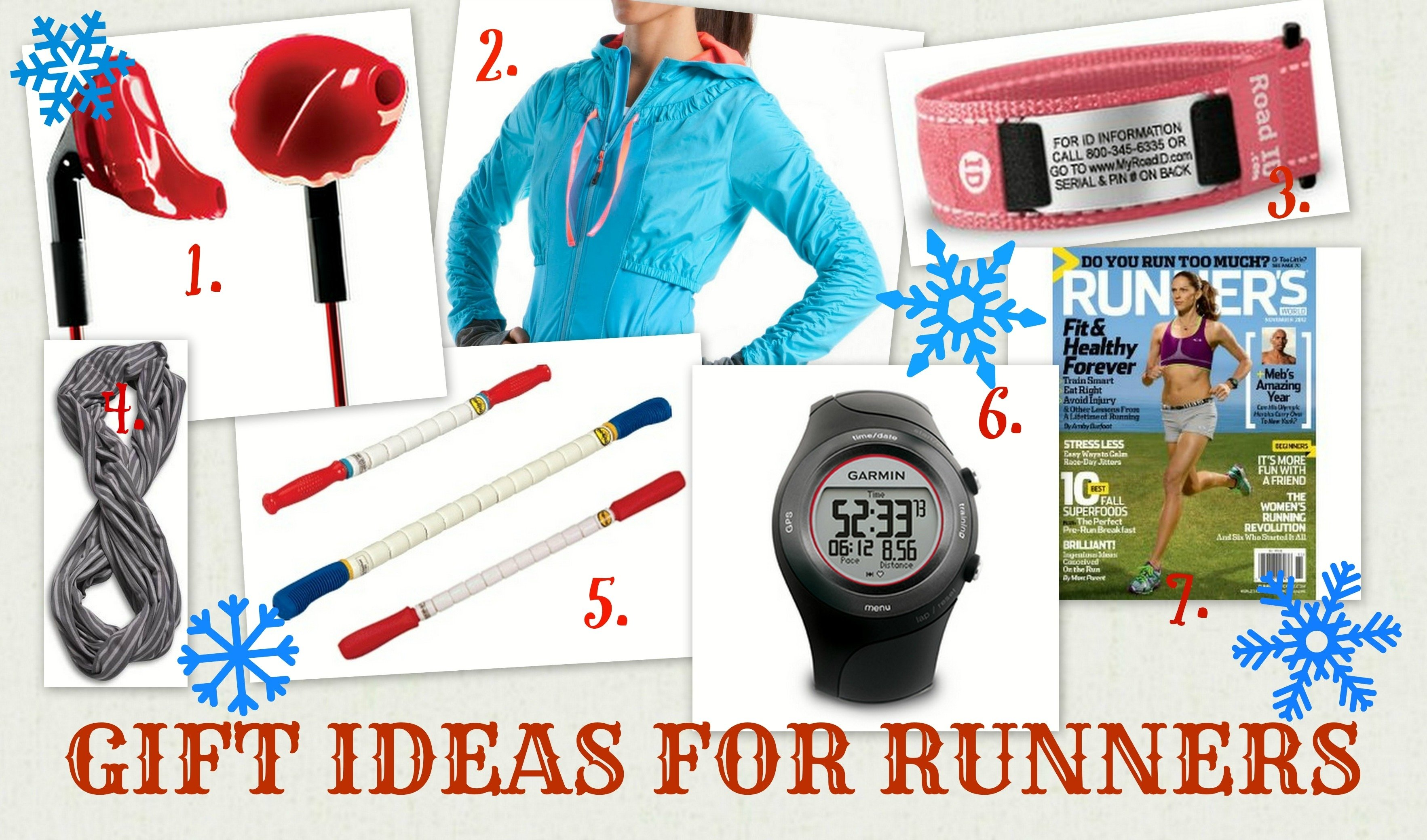 gift ideas for runners - frolic through life