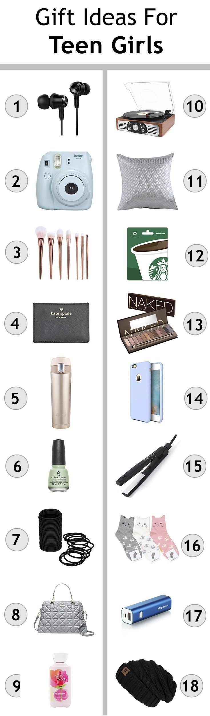 10 Awesome Gift Ideas For Teenage Girls gift ideas for teen girls christmas shopping for teengers teen 5