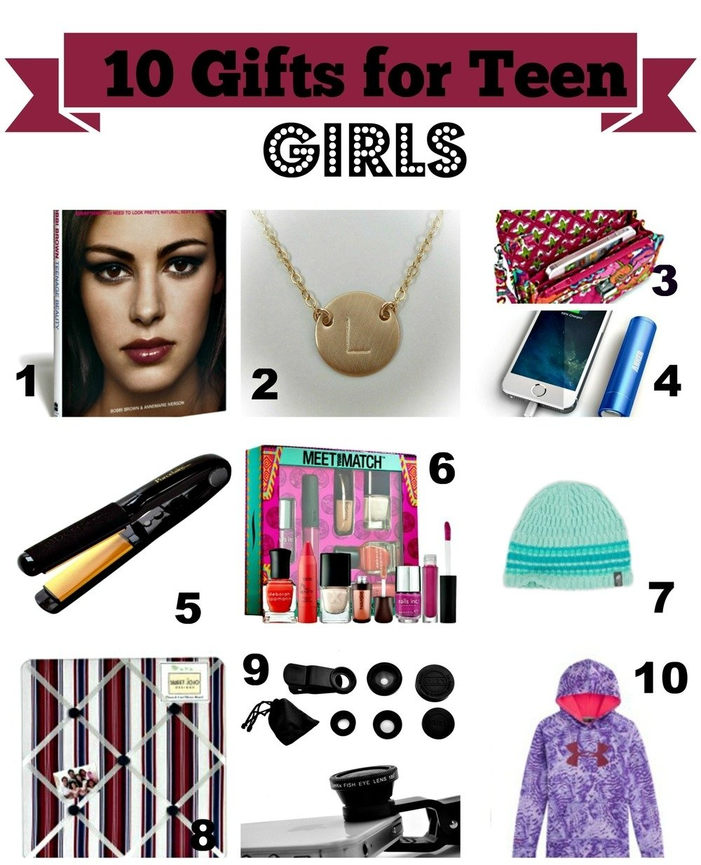 gift ideas for teenage girls - all under $50 — home & plate