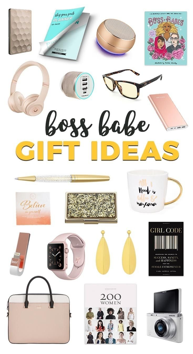 10 Stylish Gift Ideas For Female Boss gift ideas for the boss babe in your life boss gifts boss babe 2020
