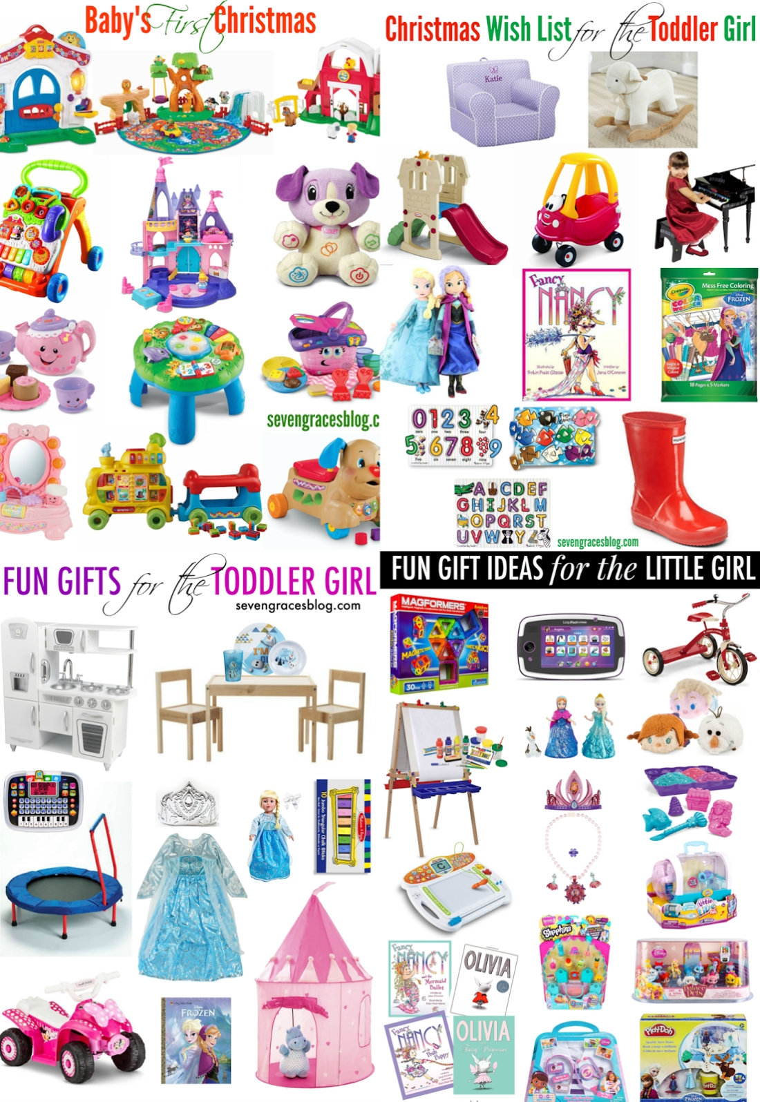 10 Fashionable Gift Ideas For Toddler Girl gift ideas for the girl turning three seven graces 3