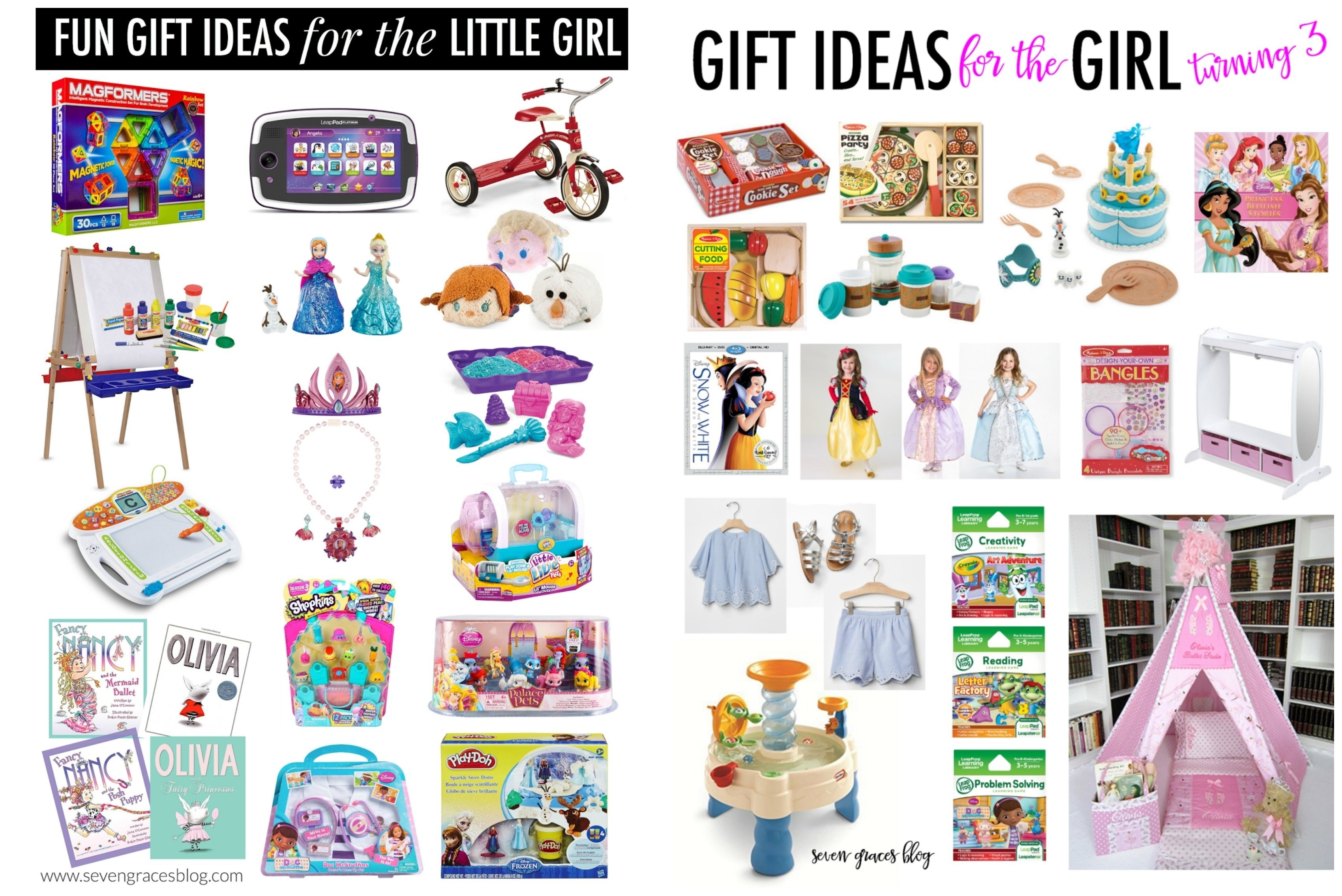 10 Stunning Gift Ideas For Little Girls gift ideas for the preschool girl and for babys first christmas 3 2020