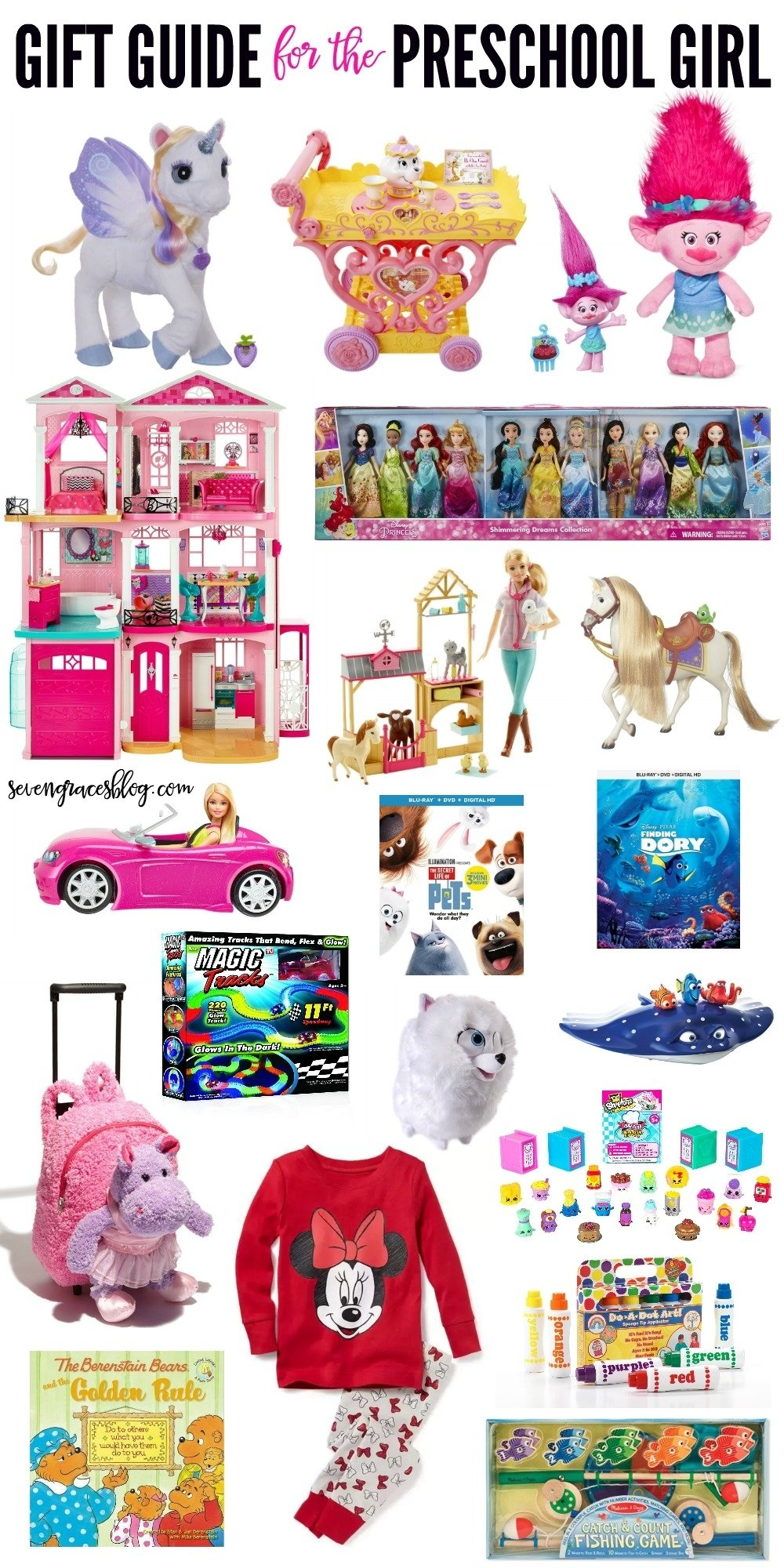 10 Stunning Gift Ideas For Little Girls gift ideas for the preschool girl and for babys first christmas 4 2020