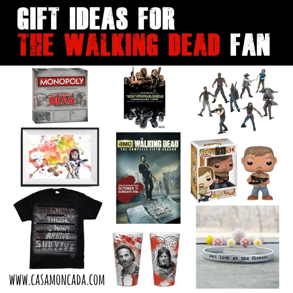 gift ideas for the walking dead fan - casa moncada