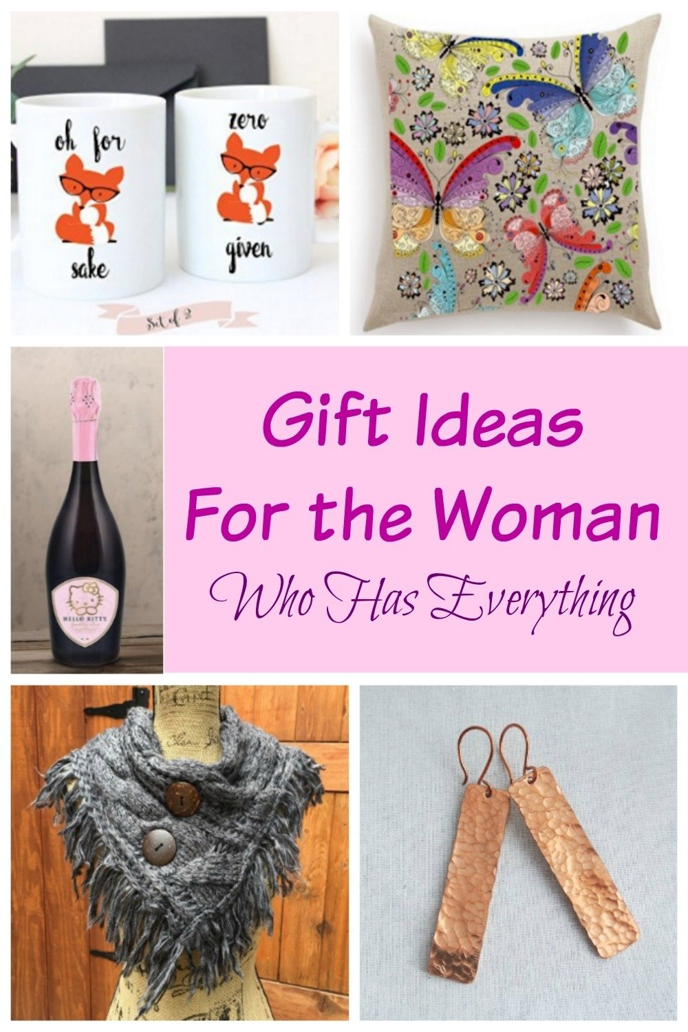 10 Great Gift Ideas For Older Women gift ideas for the women who has everything 2021