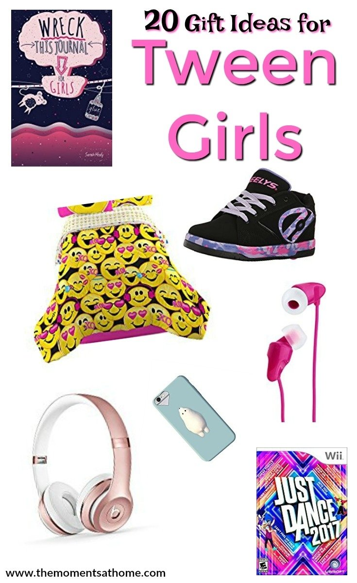 10 Unique Gift Ideas For Tween Girl gift ideas for tween girls the moments at home 1 2021