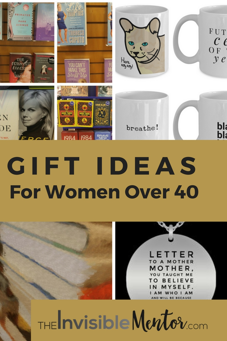 10 Unique Gift Ideas For Women Over 40 gift ideas for women over 40 gift ideas for birthdays and mothers day