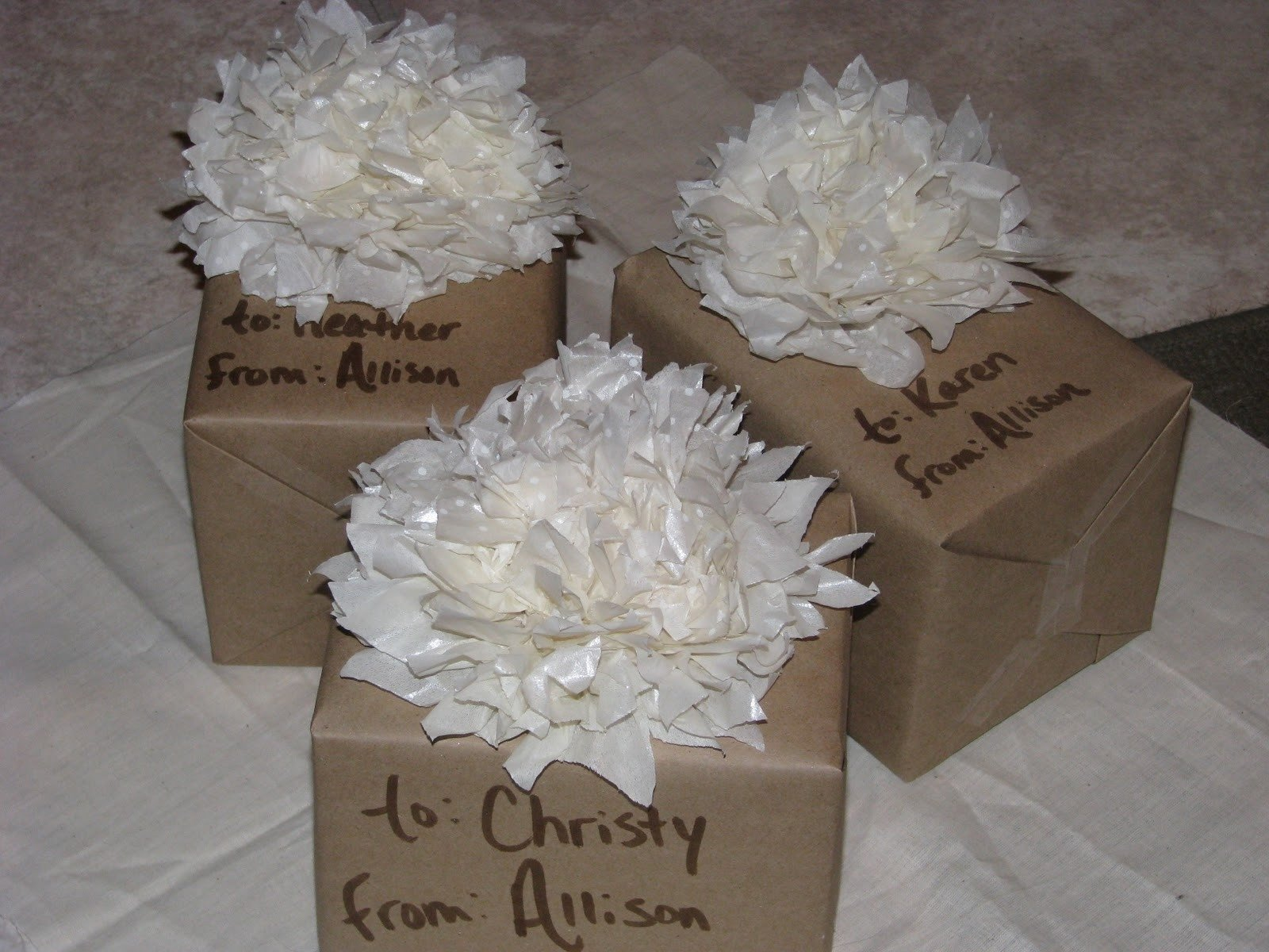 Imgenes De Creative Gift Wrapping For Bridal Shower