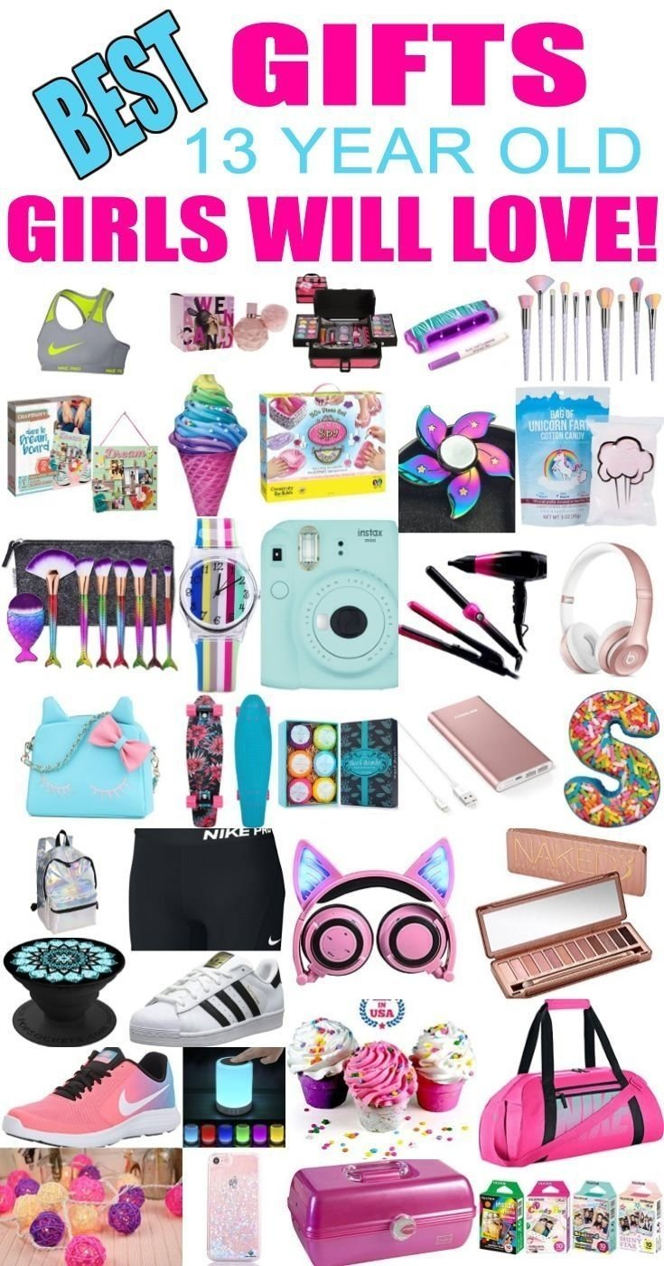 10 Stylish Birthday Present Ideas For 13 Yr Old Girl gifts 13 year old girls best gift ideas and suggestions for 13 yr 5 2020