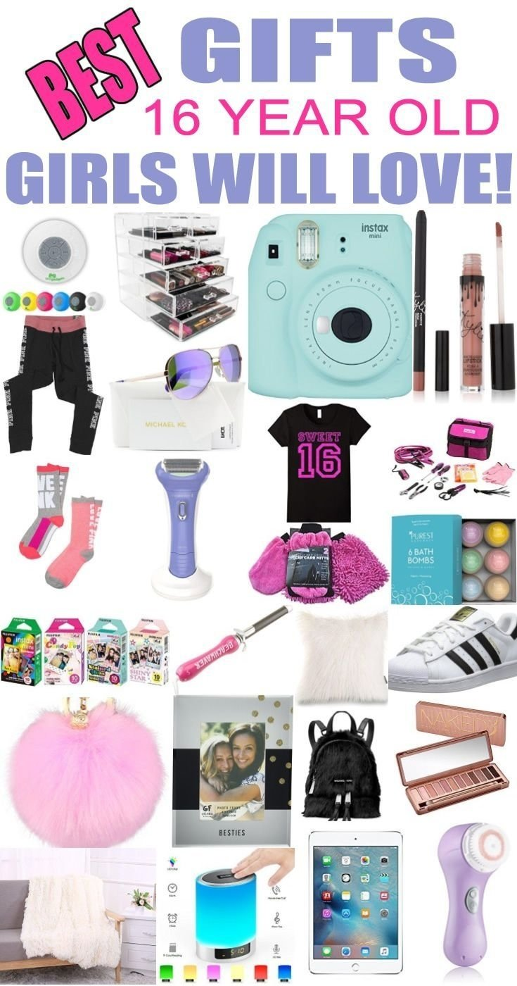10 Wonderful Birthday Ideas For 16 Year Old gifts 16 year old girls best gift ideas and suggestions for 16 yr 3 2021