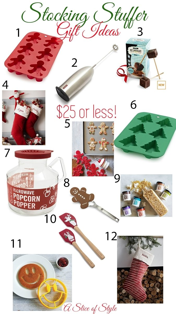 10 Wonderful Good Ideas For Stocking Stuffers gifts and stocking stuffers for 25 and under a slice of style 1 2020