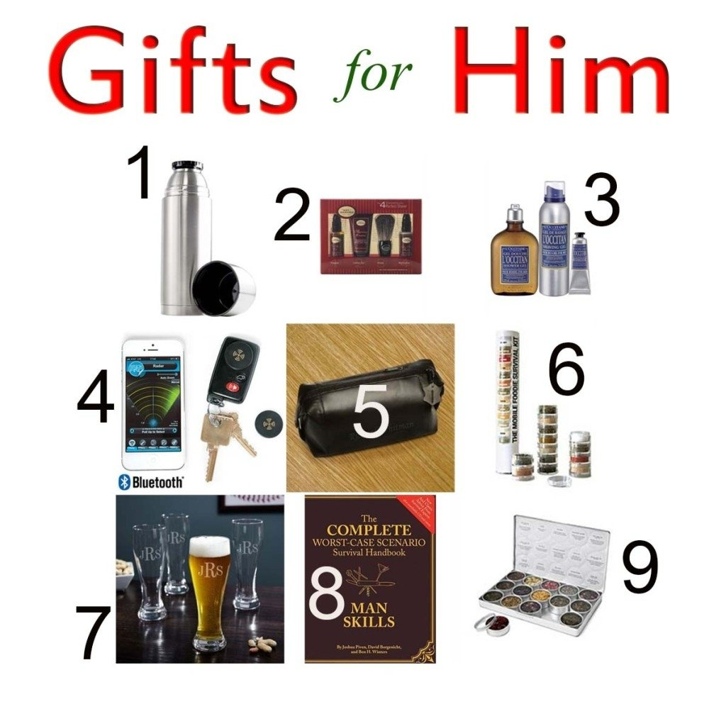 10 Attractive Mens Gift Ideas Under 50 Gifts Design Valentine Birthday For Men 30