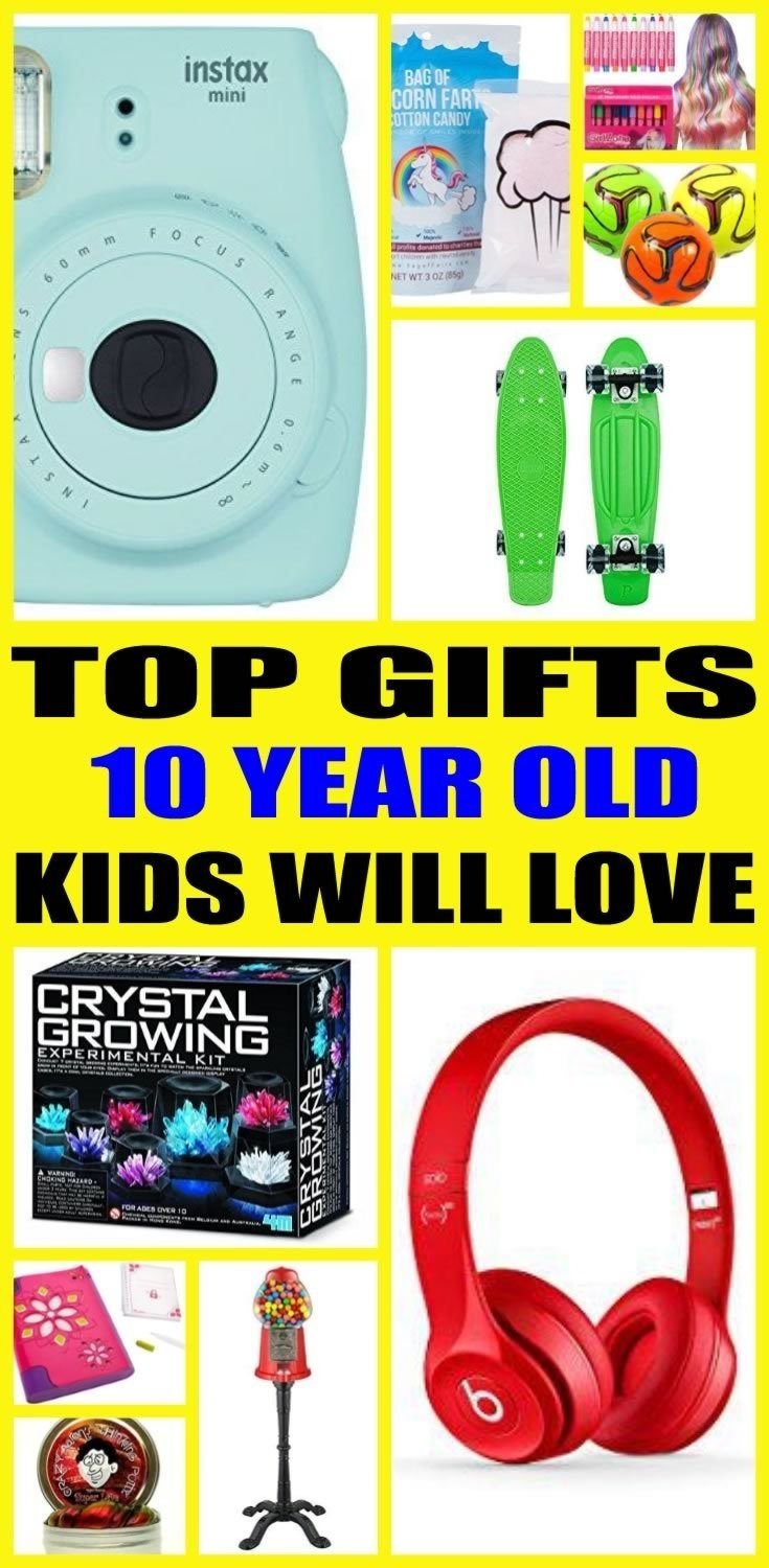 10 Attractive Gift Ideas For 10 Yr Old Girl gifts for 10 year olds 2020