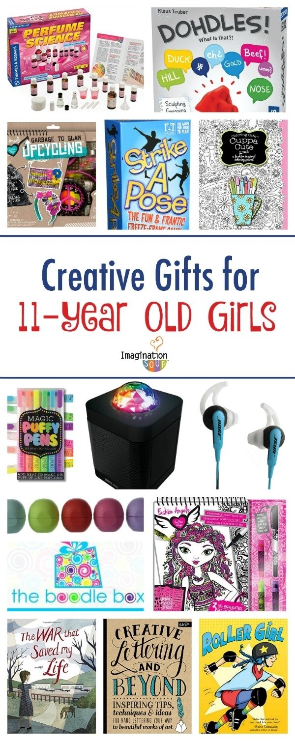 10 Cute Gift Ideas 11 Year Old Girl gifts for 11 year old girls imagination soup 2021