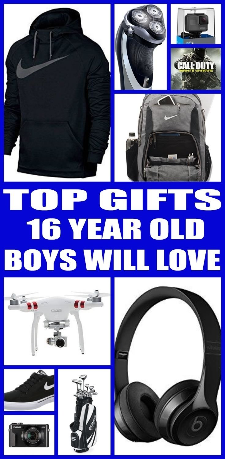 10 Stylish Gift Ideas For A 16 Year Old Boy gifts for 16 year old boys 3 2020