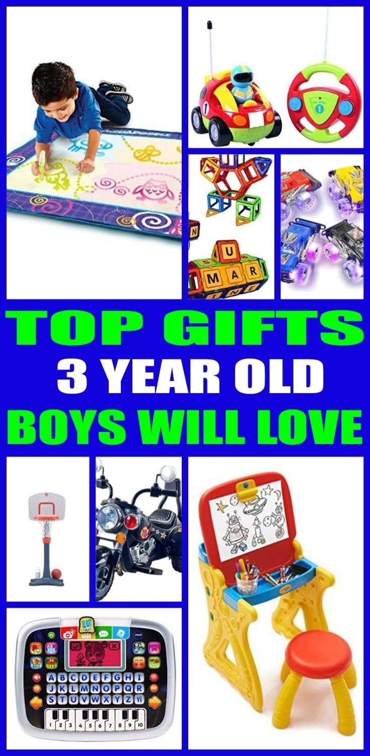 10 Awesome 3 Year Old Boy Birthday Gift Ideas Gifts For Boys