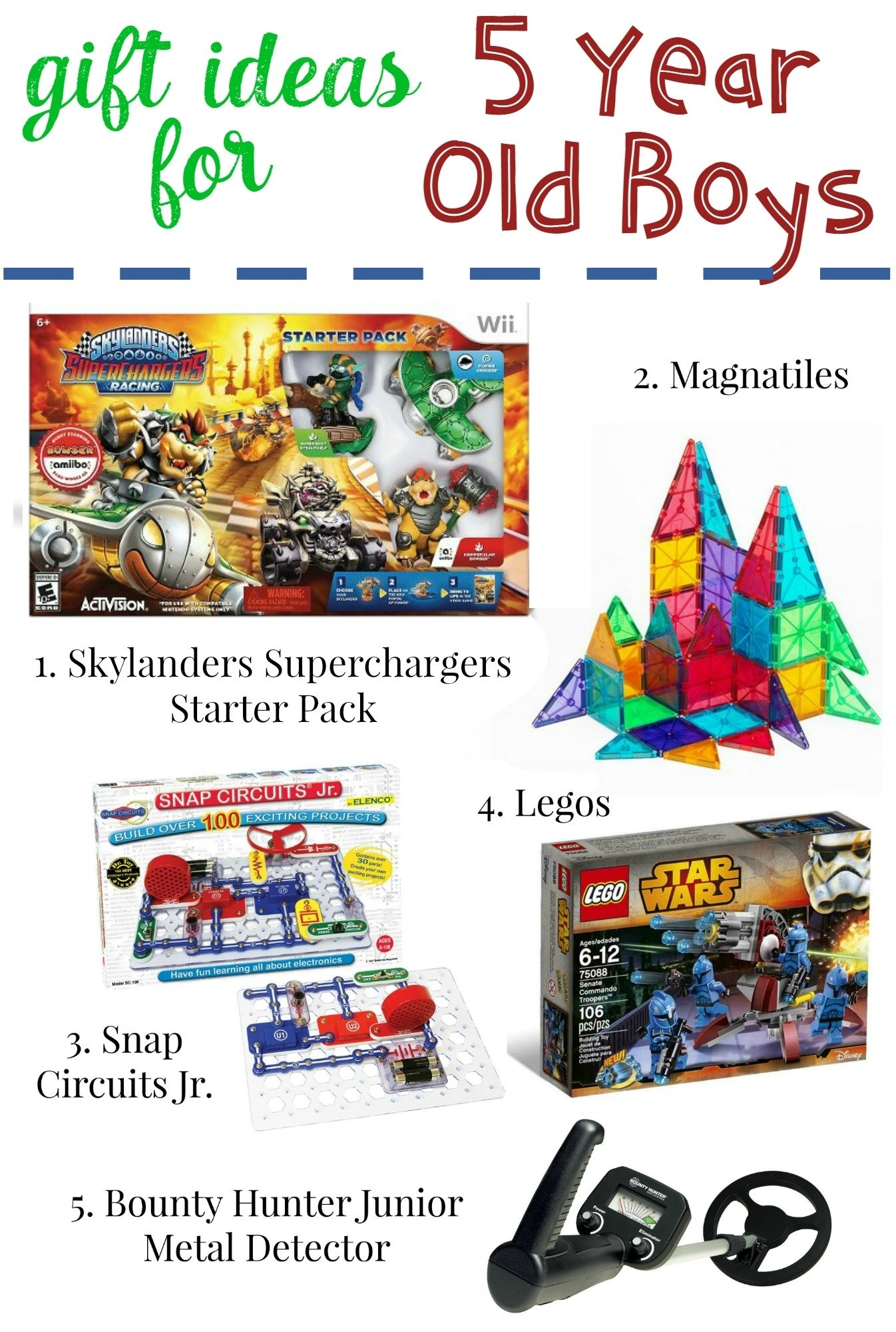 10 Most Popular Gift Ideas For A 6 Year Old Boy gifts for 5 year old boys 3 2020