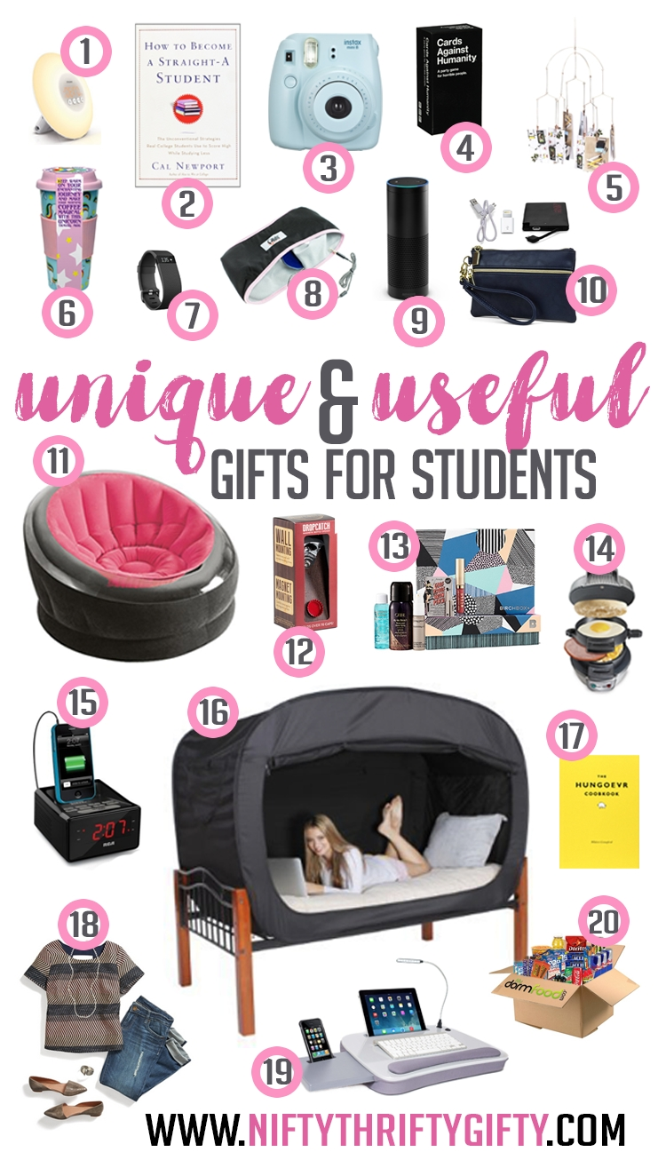 10 Attractive Gift Ideas For College Girls