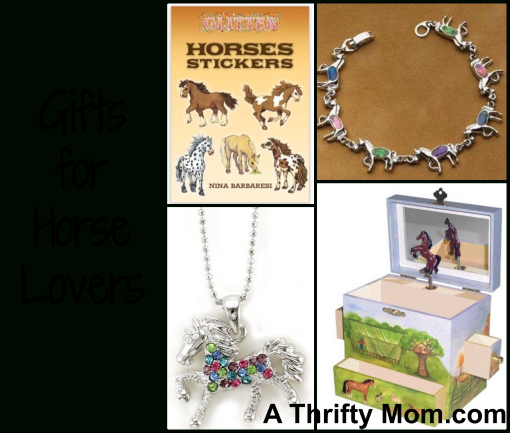 gifts for horse lovers ~ great gift ideas for kids - a thrifty mom