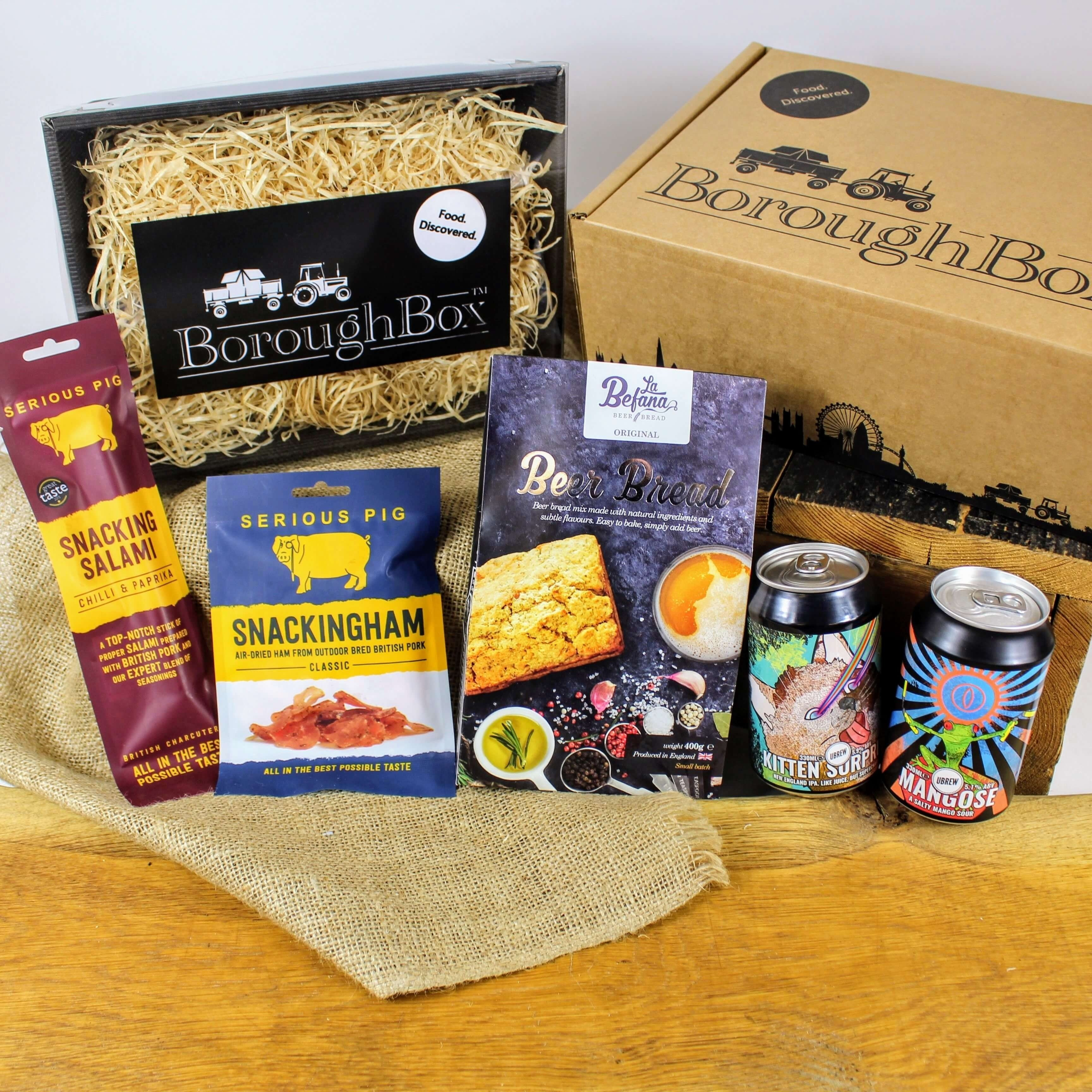 10 Elegant Food Gift Ideas For Men gifts for men man box craft beer meat boroughbox 2020