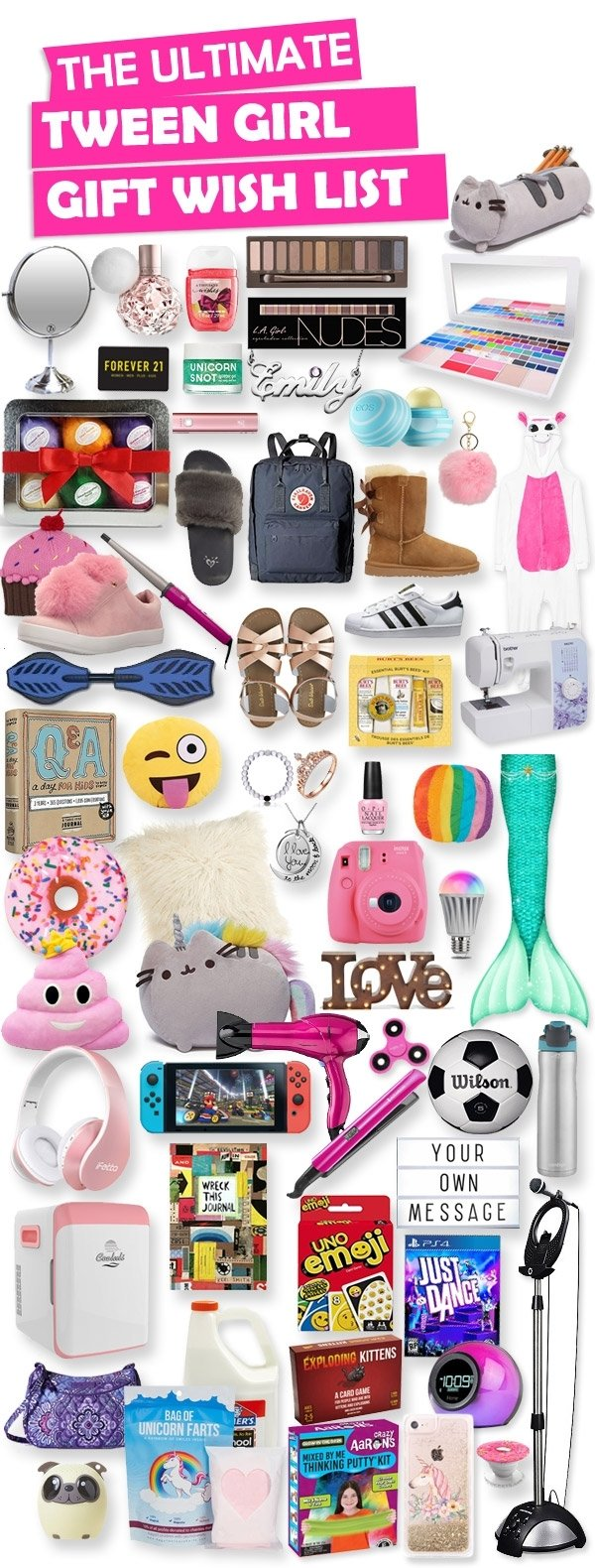 10 Trendy Christmas Gift Ideas For Tween Girls gifts for tween girls toy buzz 2020