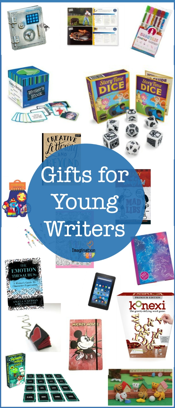 10 Trendy Gift Ideas For A Writer gifts for young writers kids writing holiday gift guide and holidays 2020