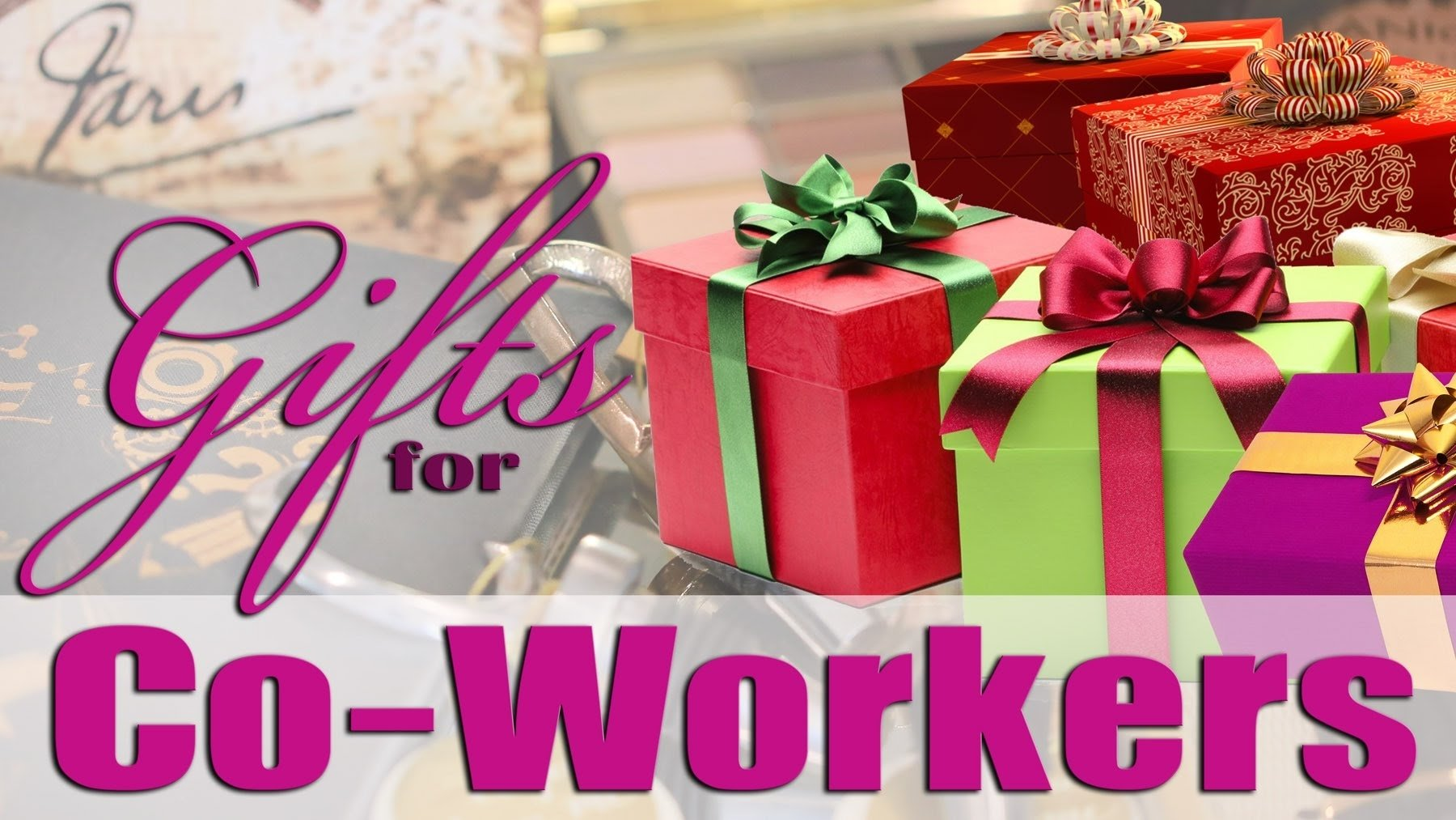 10 Nice Small Gift Ideas For Coworkers gifts ideas for coworkers under 20 youtube 7 2020