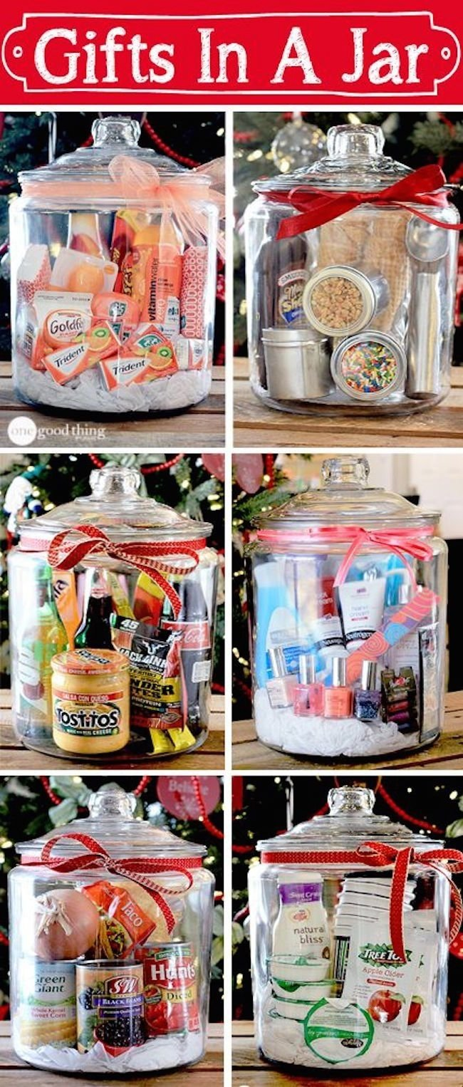 10 Awesome Good Ideas For Christmas Gifts gifts in a jar simple inexpensive and fun gift jar and