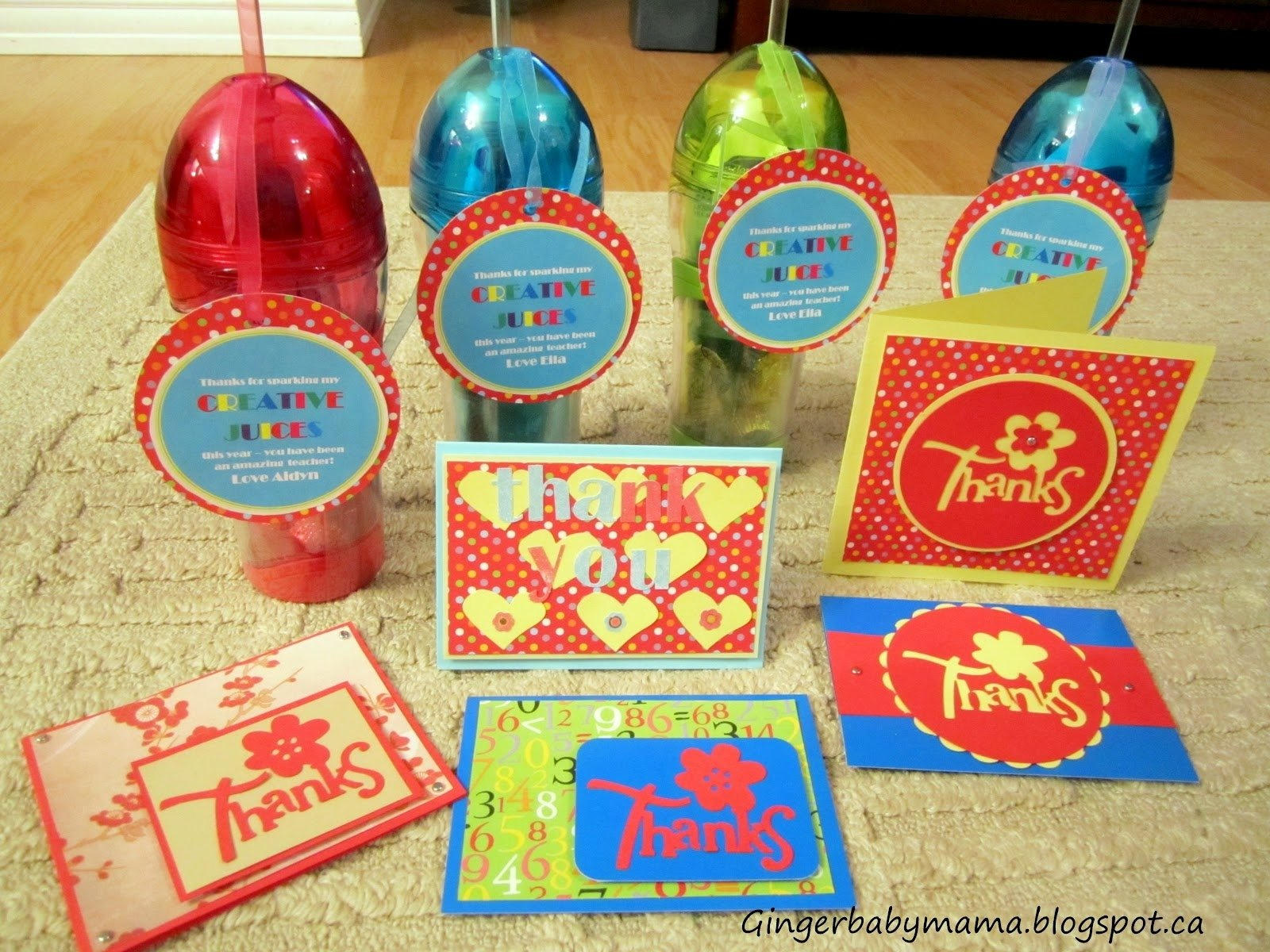 10 Pretty End Of The Year Gift Ideas For Teachers gingerbabymama end of the year teacher thank you presents 2