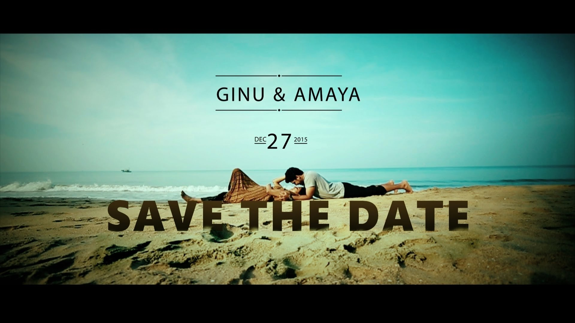 10 Unique Save The Date Video Ideas ginuamaya wedding save the date video createdstudio mahal 2021