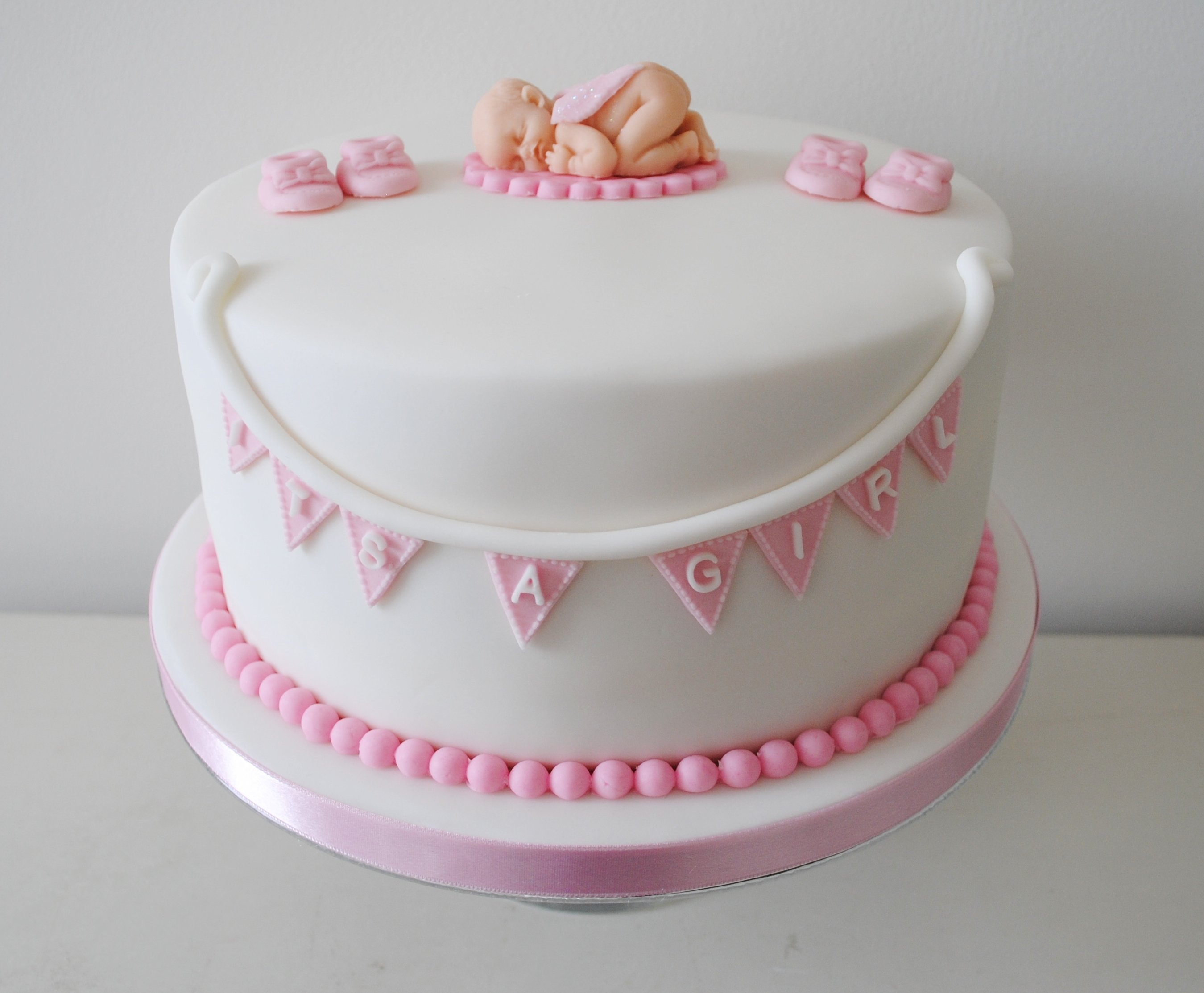 10 Beautiful Girl Baby Shower Cake Ideas girl baby shower cakes you can look baby shower cream cakes you can
