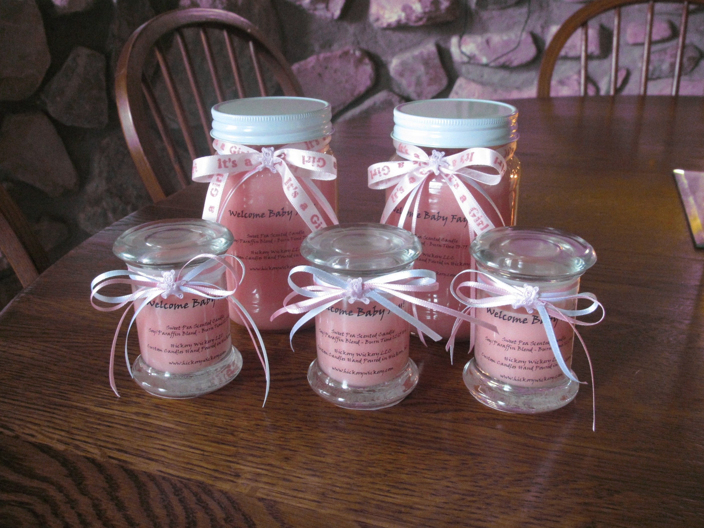 girl baby shower favor ideas • baby showers ideas