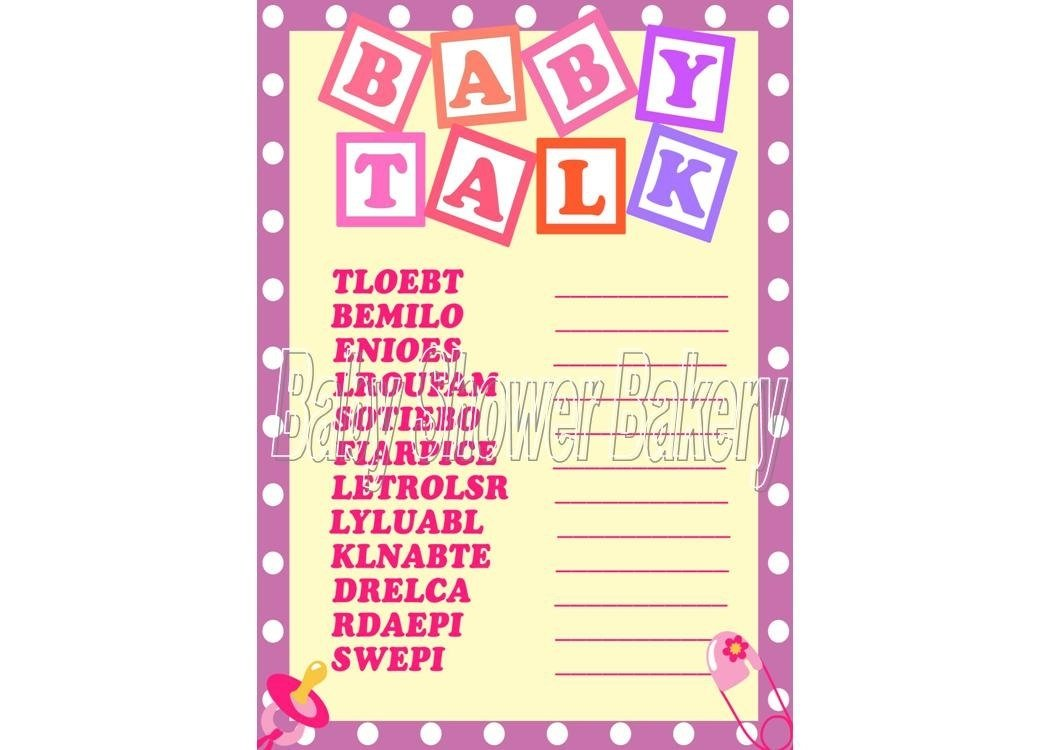 10 Perfect Baby Shower Game Ideas For A Girl girl baby shower games baby showers ideas 2021