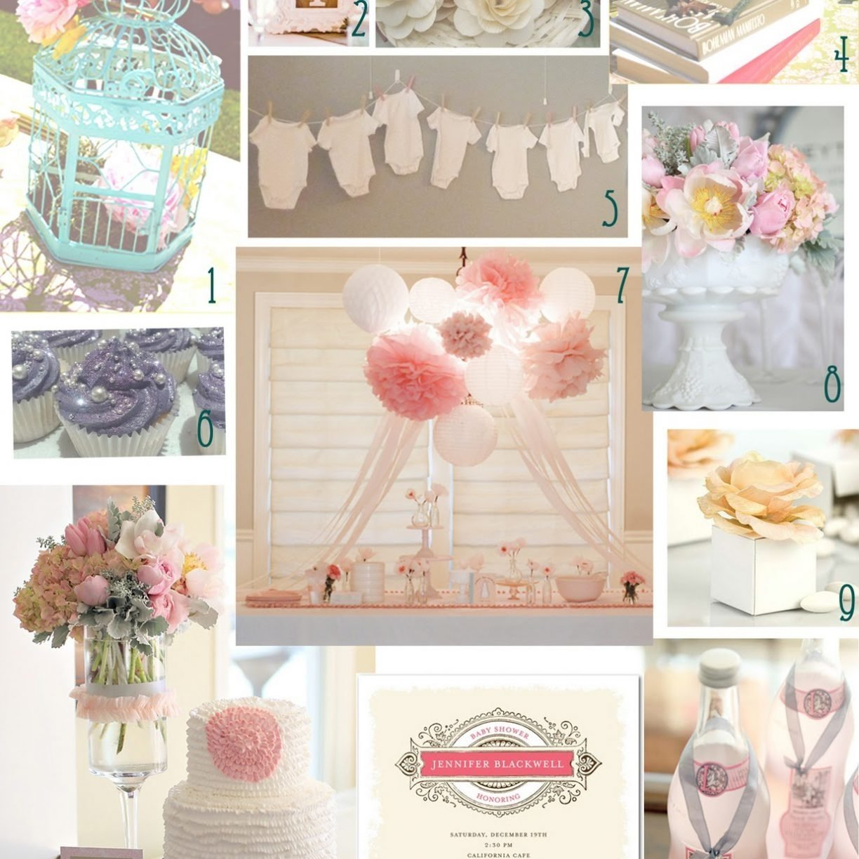 10 Famous Baby Shower Theme Ideas For A Girl girl baby shower theme supplies diy favors ideas themes tea party 2020