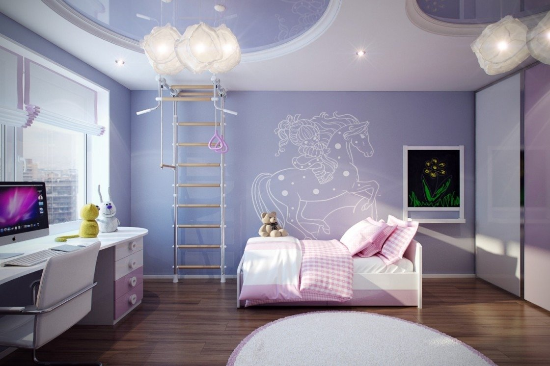 10 Attractive Paint Ideas For Girls Bedrooms 2021