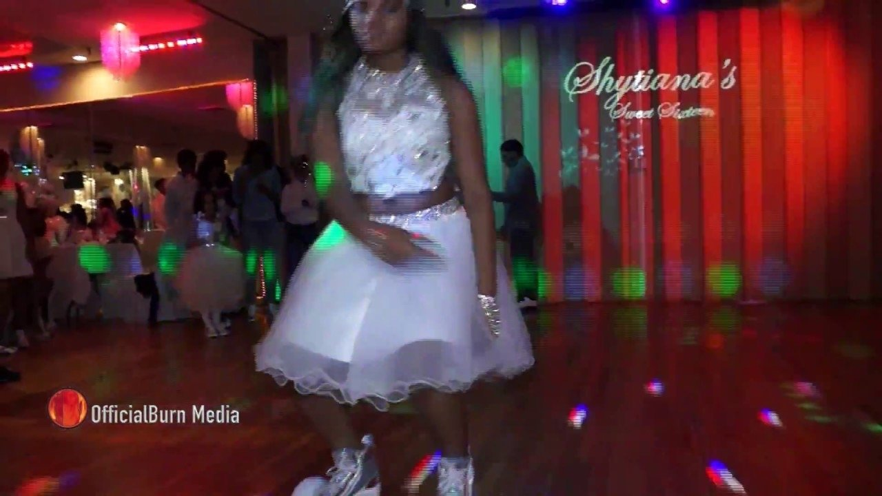 10 Stylish Sweet 16 Grand Entrance Ideas girl makes a grand entrance at her sweet 16 on a hoverboard must 2020