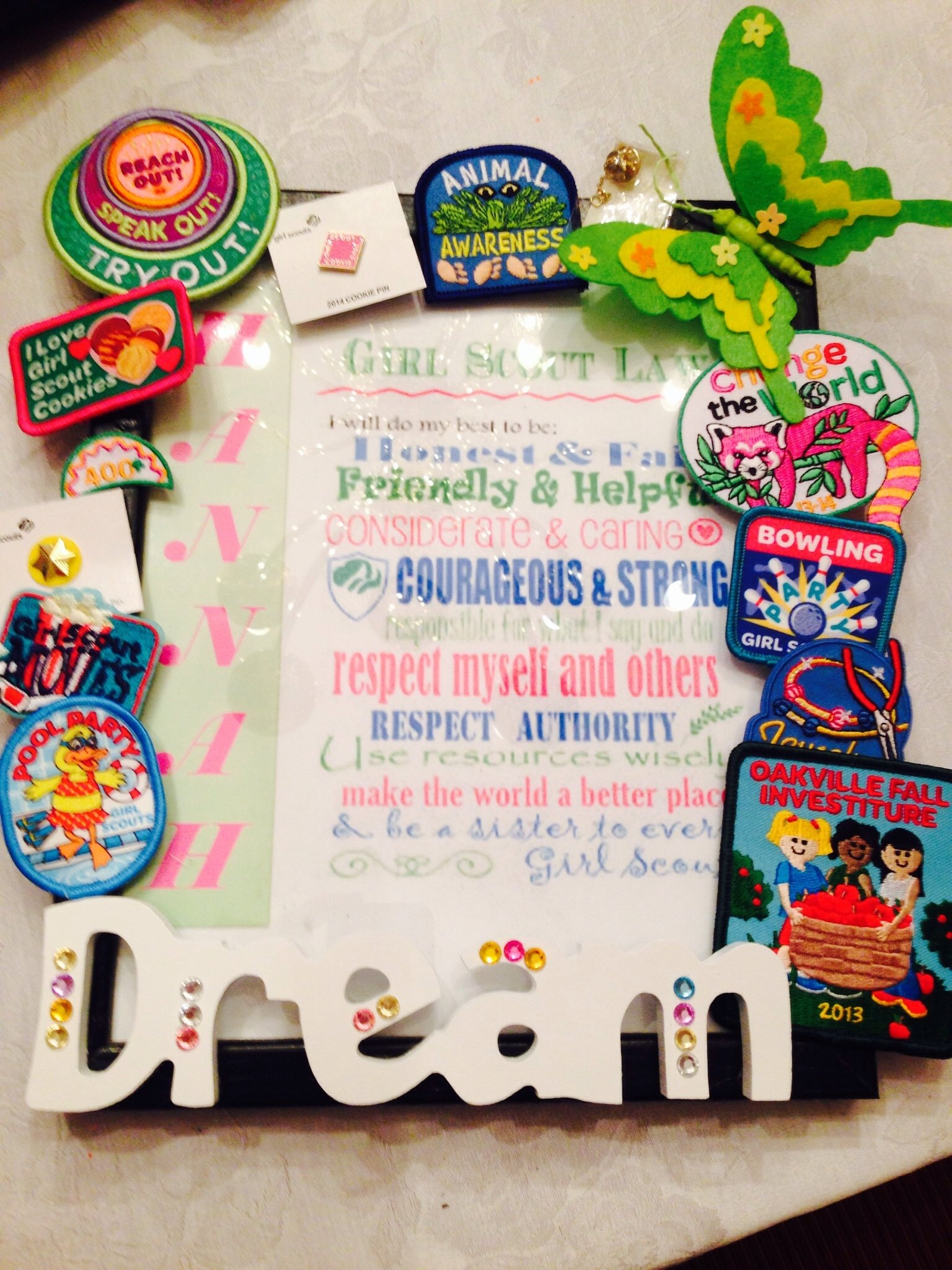 10 Awesome Brownie Girl Scout Meeting Ideas girl scout end of year badge presentationthis turned out great 1