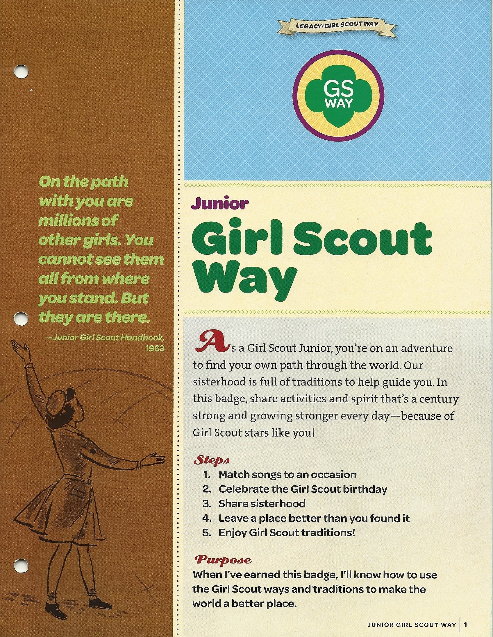 10 Fashionable Girl Scout Way Badge Ideas girl scout way troop 7416 2020