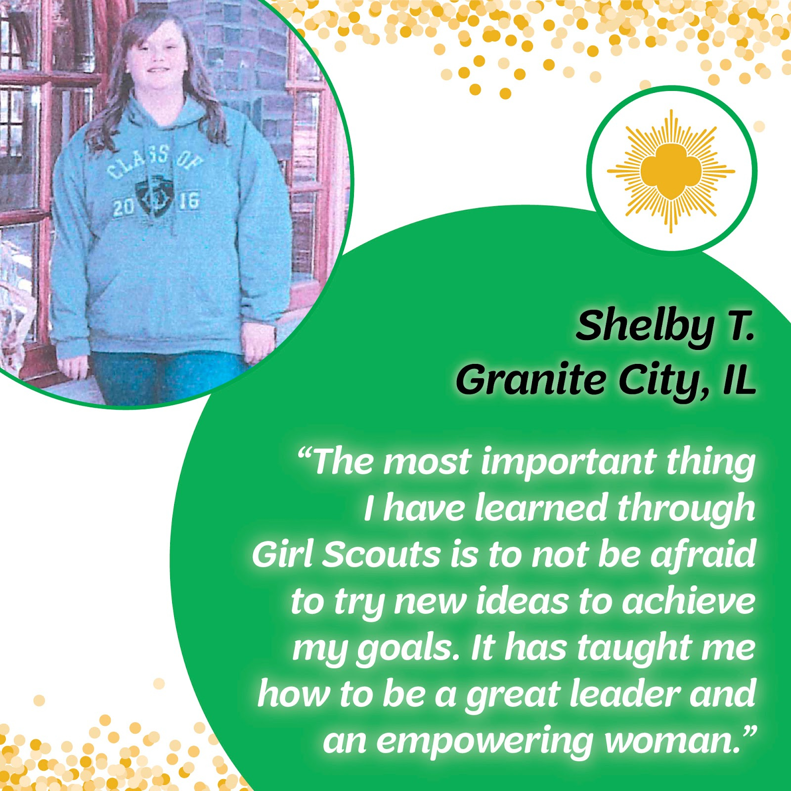10 Unique Girl Scouts Gold Award Ideas girl scouts of southern illinois shelby tingley from granite city 2021