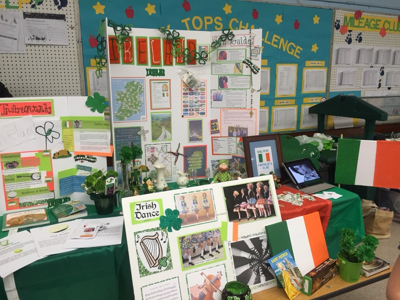 10 Attractive Girl Scout Thinking Day Ideas girl scouts world thinking day ireland instruments board irish