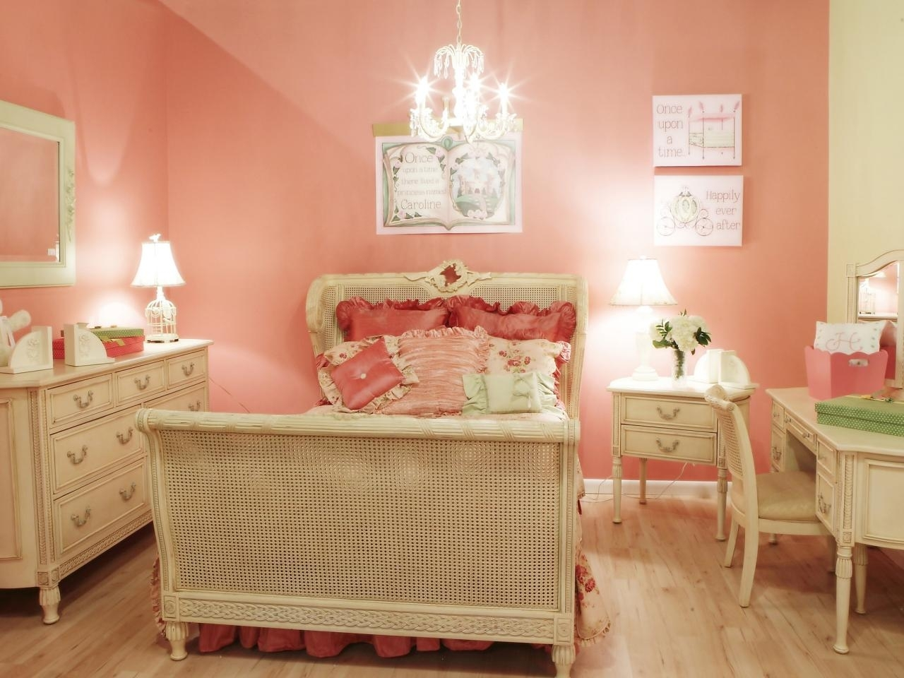 girls' bedroom color schemes: pictures, options & ideas | hgtv